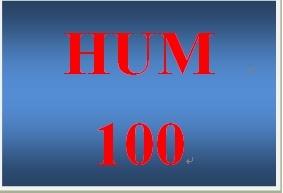 HUM 100 Week 1 Mesopotamia and Egypt