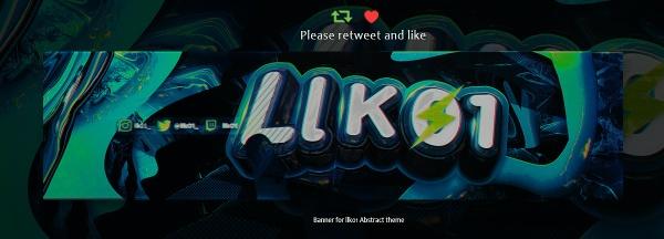 Bannerr for llK01 | Psd Template (Free)