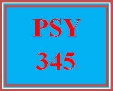 PSY 345 Week 5 Chemical Senses Paper