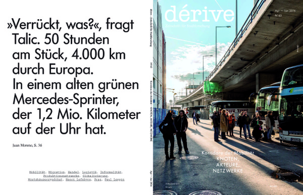 Korridore der Mobilität - Knoten, Akteure, Netzwerke / Heft 63 (PDF) (2/2016)