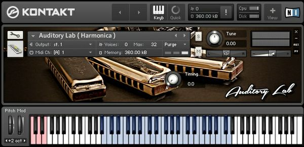 Auditory Lab ( Harmonica )