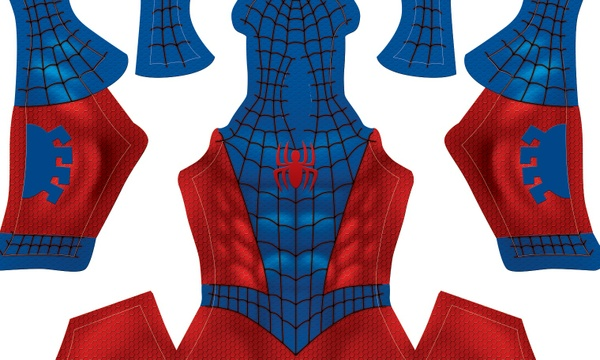 Reverse Classic Spider-Man pattern