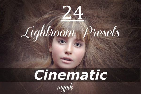 24 Cinematic Lightroom Presets