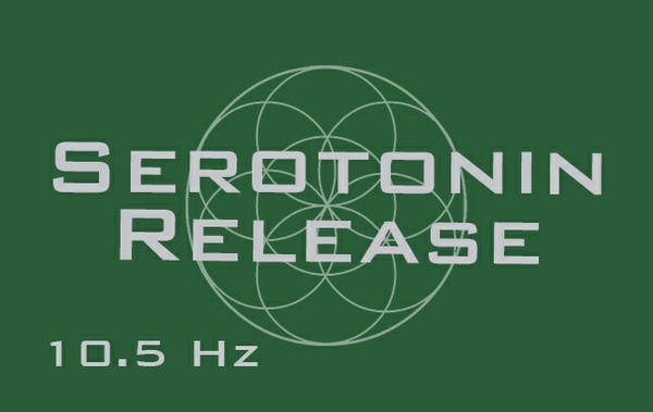 Serotonin Release - Release Natural Serotonin - 10.5 hz - Binaural Beats
