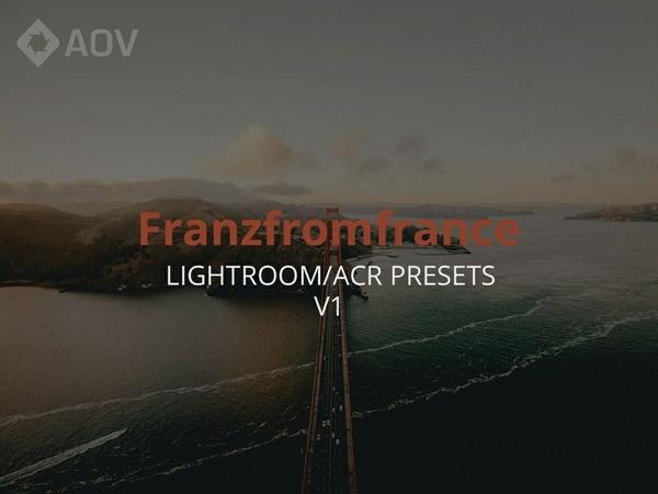 AOV x Franzfromfrance Lightroom Presets