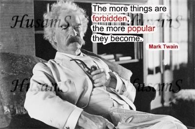 Mark Twain's Picture Quote ( #009 )