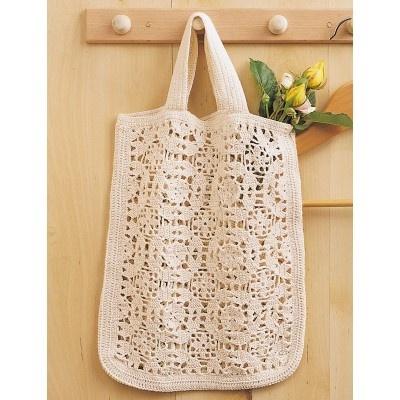 Crochet Cotton Shopping Bag