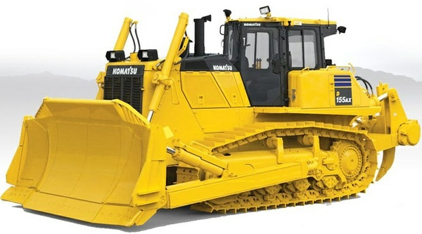 Komatsu Bulldozers D155AX-8 sn:100001 and up Workshop Service Manual