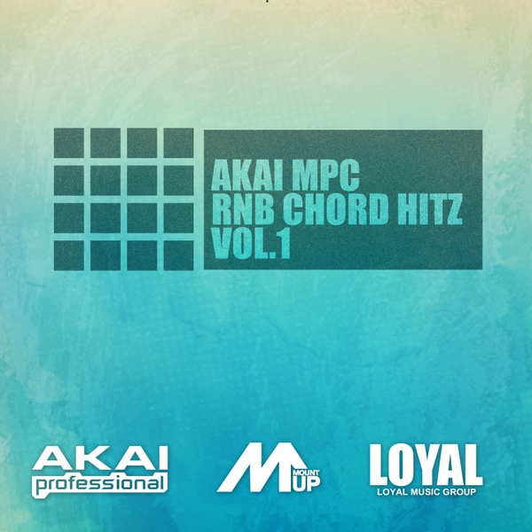 AKAI MPC RNB CHORD HITZ VOL.1 R&B
