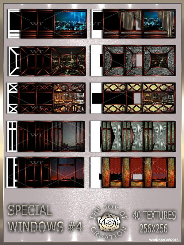 ~ SPECIAL WINDOWS #4 TEXTURE PACK ~