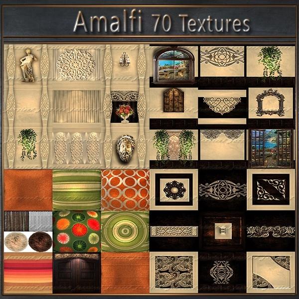 Amalfi 70 Textures