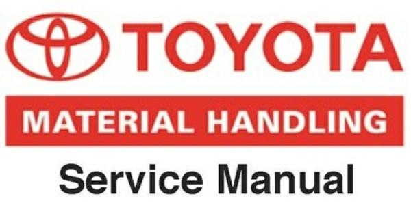 Toyota CBT4, CBT6, CBTY4 Floor Runner Workshop Service Manual