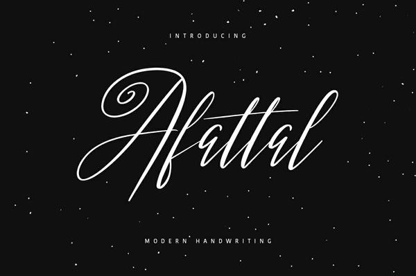 Afattal Typeface