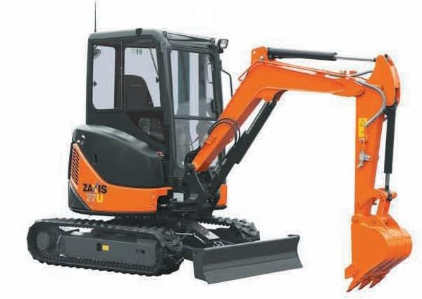 Hitachi Zaxis 27U 30U 35U Excavator Service Repair Manual Download