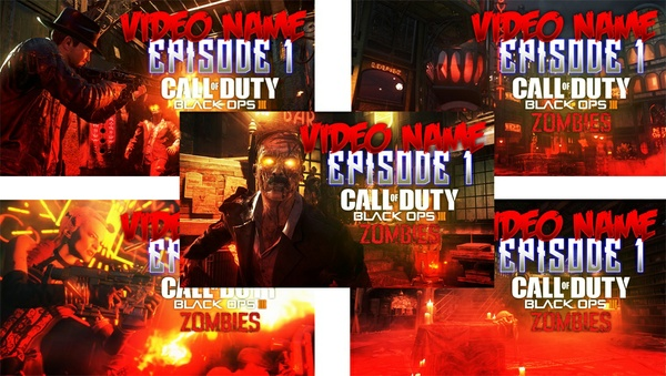 Black Ops III - Zombies - Thumbnail Pack