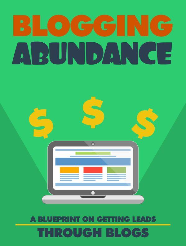 Blogging Abundance