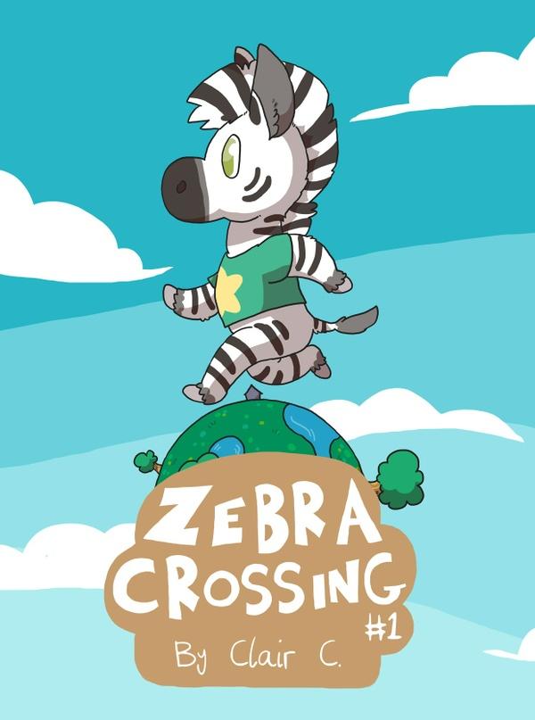 Zebra Crossing #1 PDF & Wallpaper Bundle