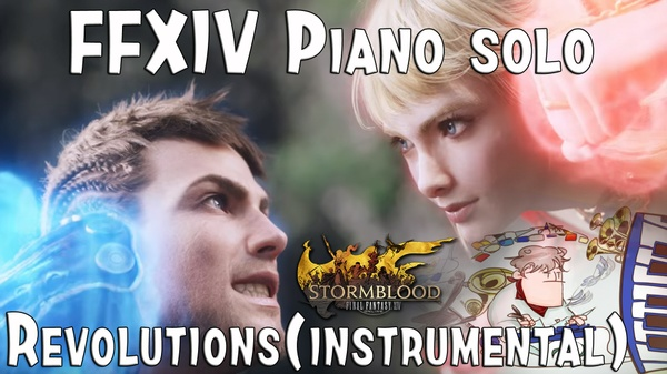 Final Fantasy XIV : STORMBLOOD ( REVOLUTIONS ) for piano solo.mp3