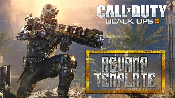 Black Ops III - Prophet Revamp Pack + Thumbnail Template