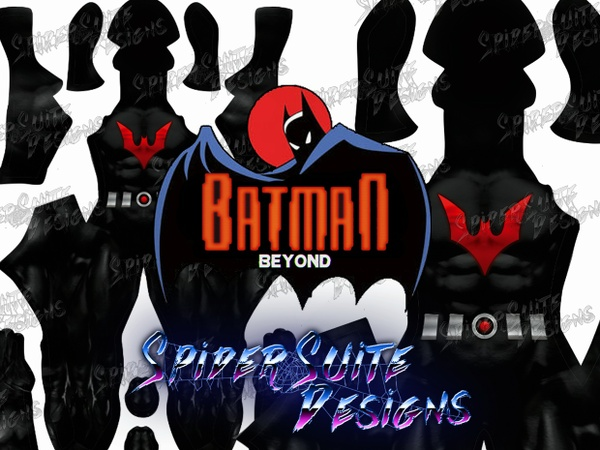 Animated Batman Beyond 2017 Pattern