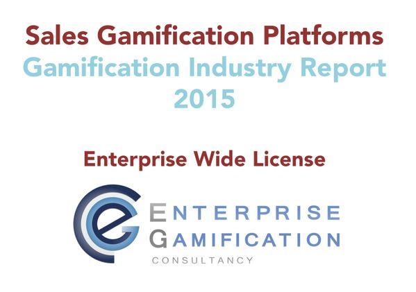 Sales Gamification Platform Report 2015 (Enterprise Wide License)