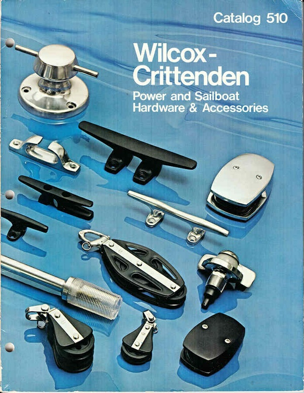 1974 Wilcox Crittenden Catalog