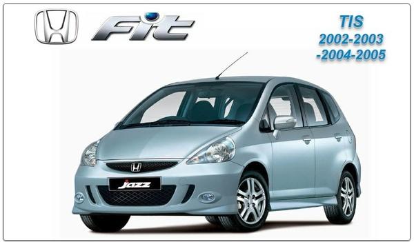 Honda Fit 2002-2005 TIS Factory Service Manual