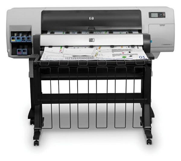 HP Designjet T7100 & T7100 Monochrome printer series Service Repair Manual