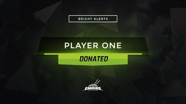 Stream Alert Set - Bright (x4) - Green