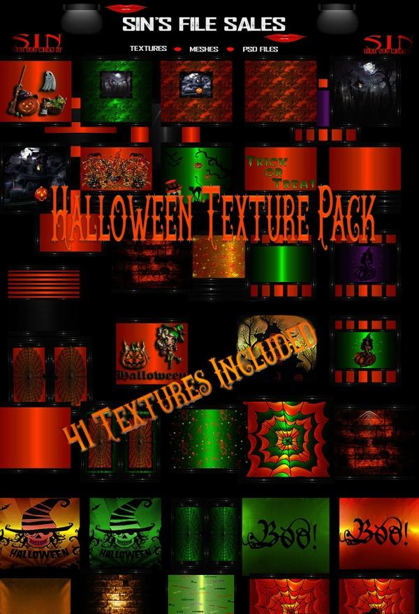 Halloween Texture Pack *41 Textures