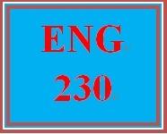 ENG 230 Week 4 Descriptive Modifiers