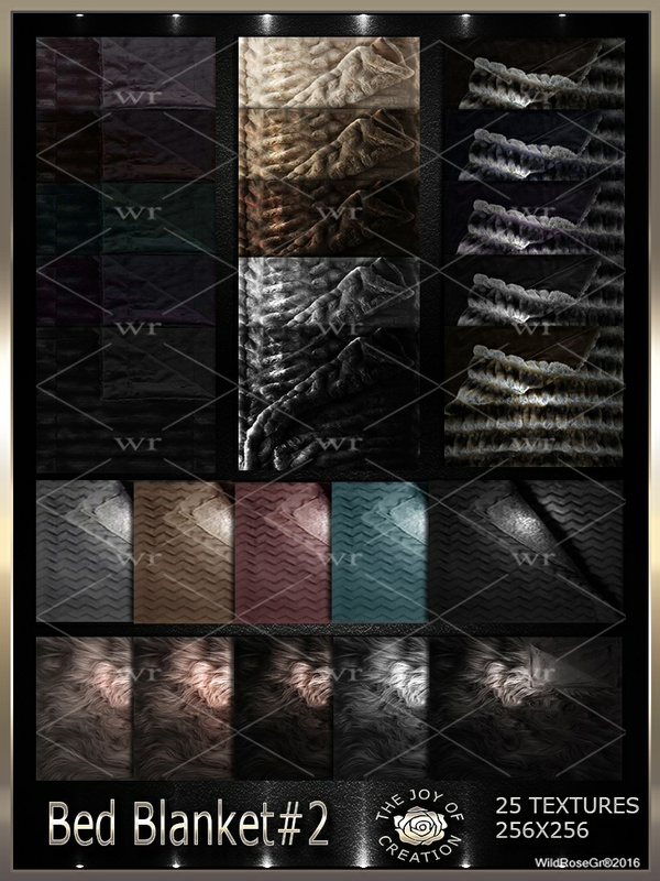 ~ BED BLANKET #2 TEXTURE PACK ~