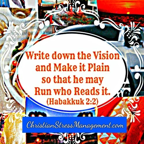 Write down the vision and make it plain
