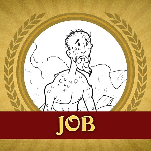 The Heroes of the Bible Coloring Pages: Job