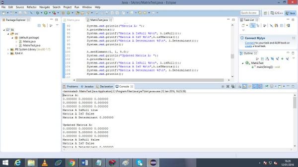 non-negative 3x3 Matrices