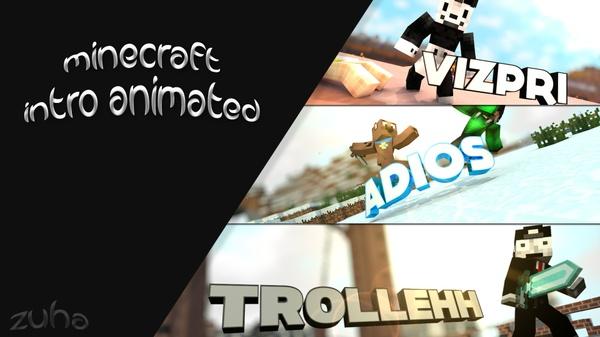 - [Minecraft] YouTube Animation Intro -