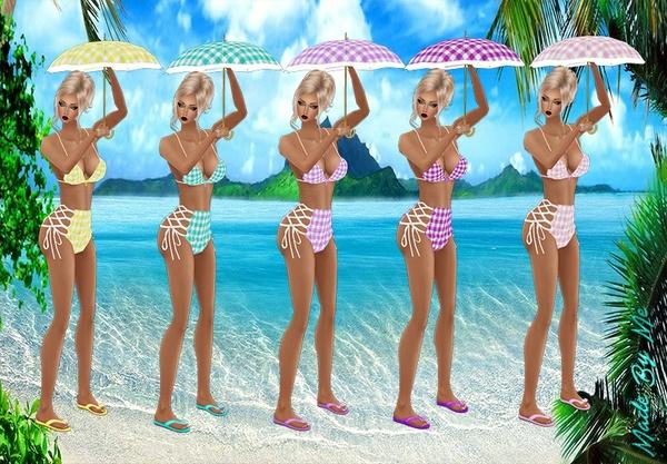 Beach Gingham Bundle