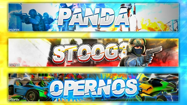 Banner - CSGO/rocket league/overwatch :D
