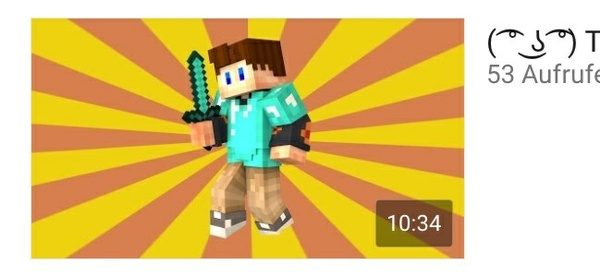 Minecraft Custom YT (or other) Thumbnail