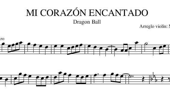 MI CORAZÓN ENCANTADO (Dragon Ball)