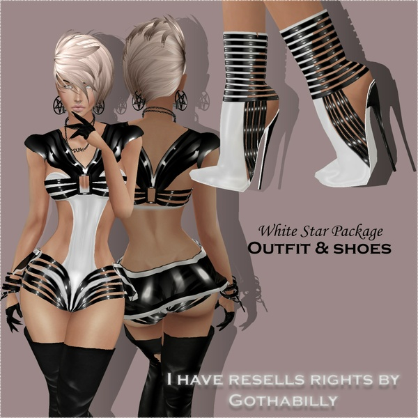 WHITE STAR PACK - RESELLS RIGHTS