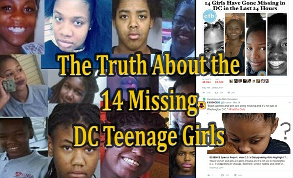 """The Truth About the """"Missing DC Girls"""" & The Agenda of the Congressional Black Caucus"""