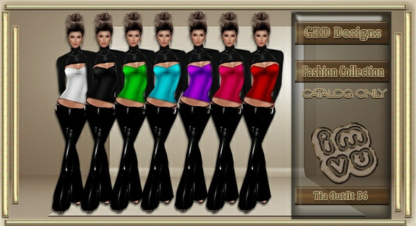 Tia Outfit 56 CATALOG ONLY