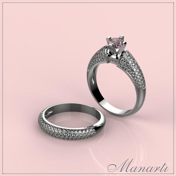 3d jewelry design ring file format stl model 000