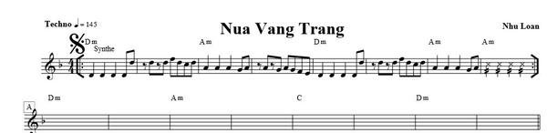 nua vang trang - Nhu Loan