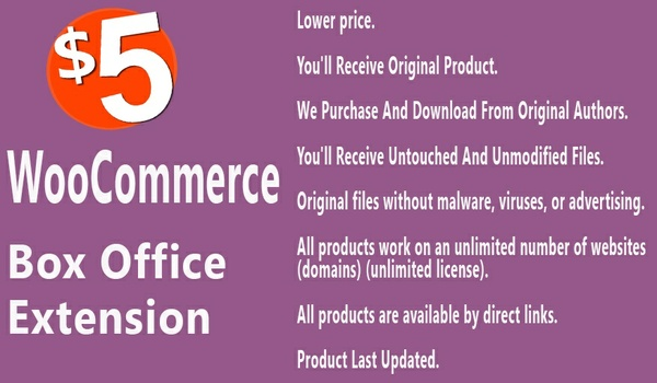 WooCommerce Box Office Extension