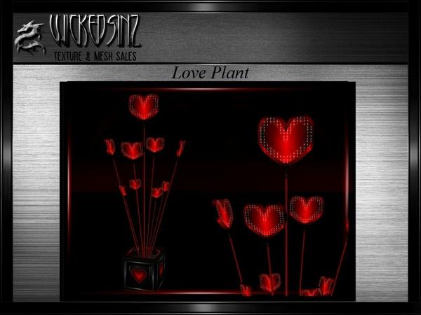 Valentines Love Plant MESH - $3.00
