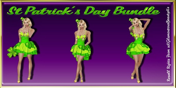 St Patrick's Day Bundle Catty Only!!!