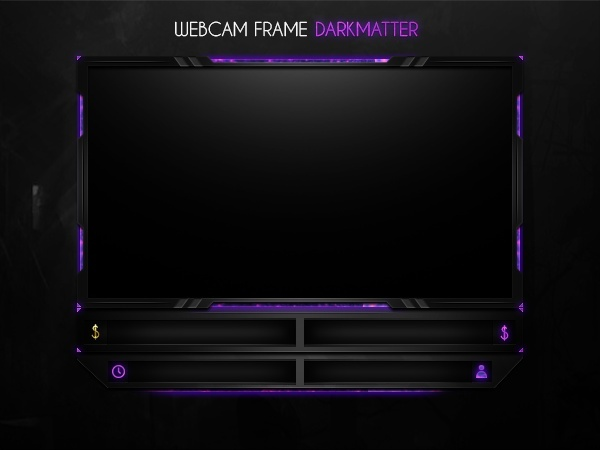 Webcam Frame Darkmatter