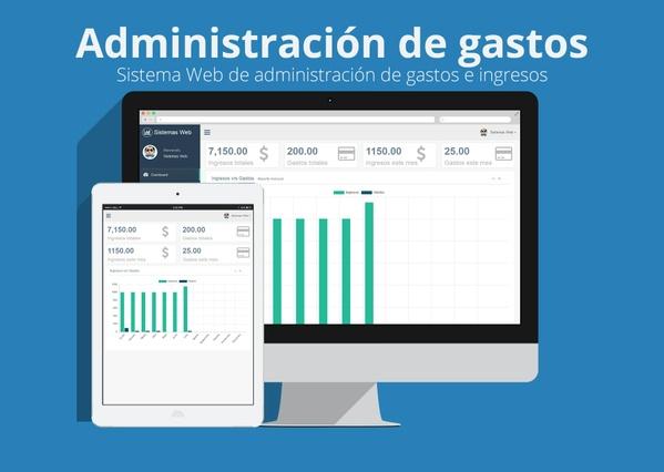Sistemas web de administración de gastos e ingresos